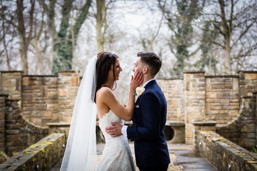 yorkshire wedding photographer - couple portrait