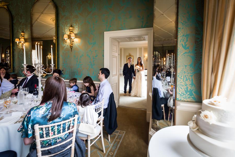 yorkshire wedding photographer - bowcliffe hall wedding breakfast