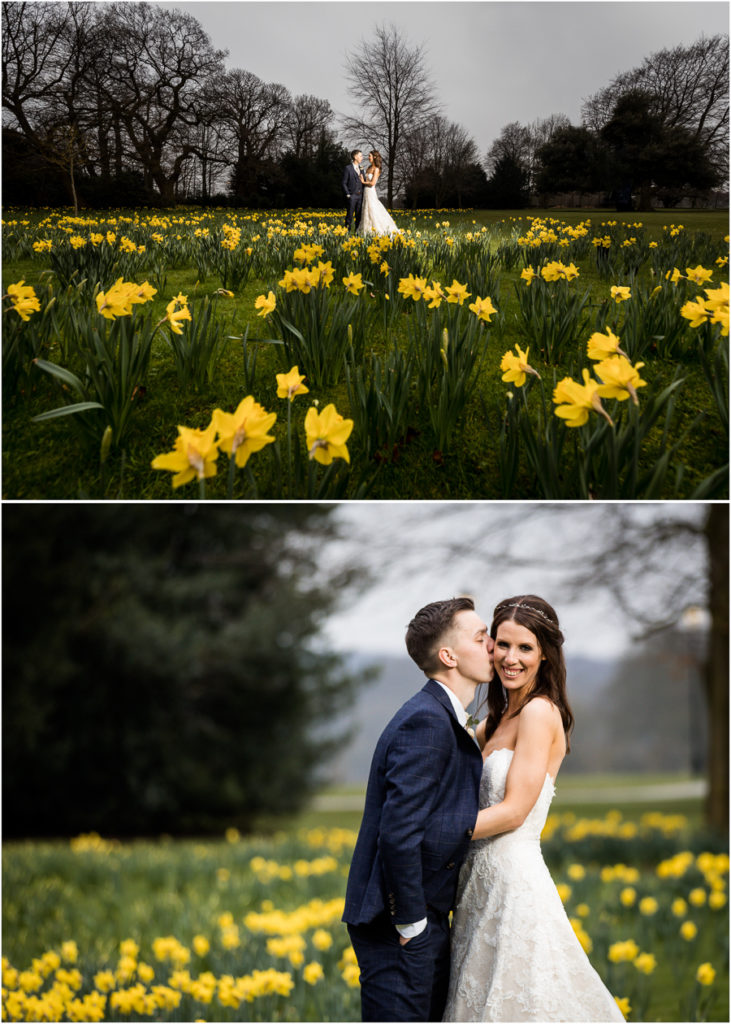 Couple portraits at Bowcliffe Hall