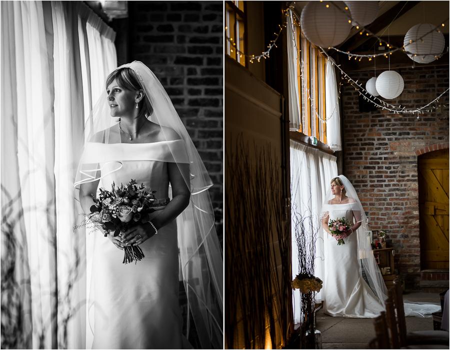 yorkshire wedding photographer - bride and groom portraits