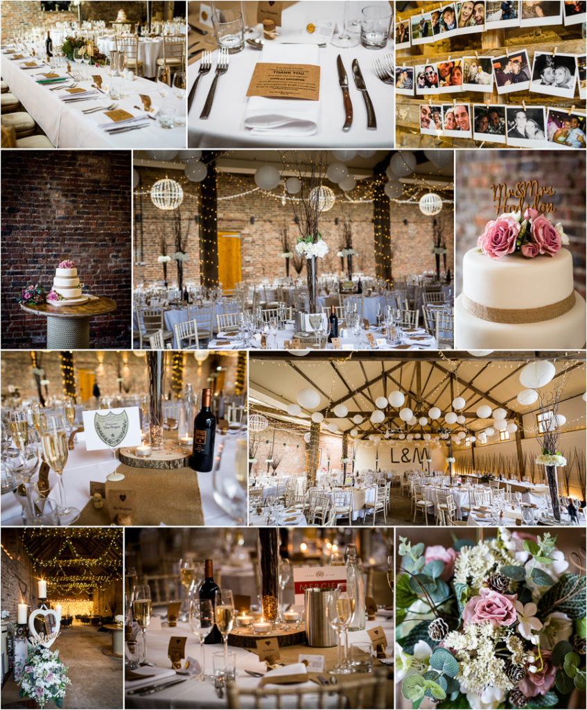 yorkshire wedding photographer - details of the wedding venue
