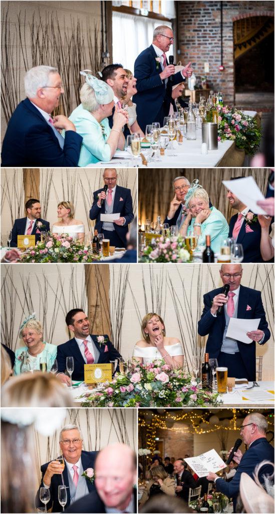 yorkshire wedding photographer - Wedding at Barnbyfields Barns in York