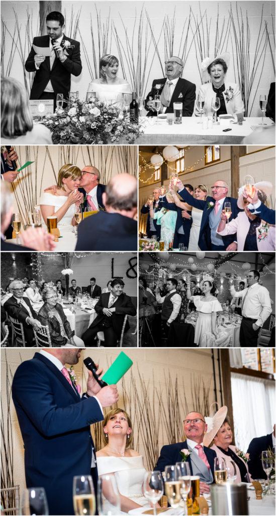 yorkshire wedding photographer - grooms speech