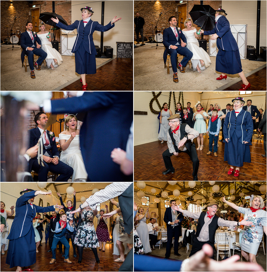 yorkshire wedding photographer - guests performance