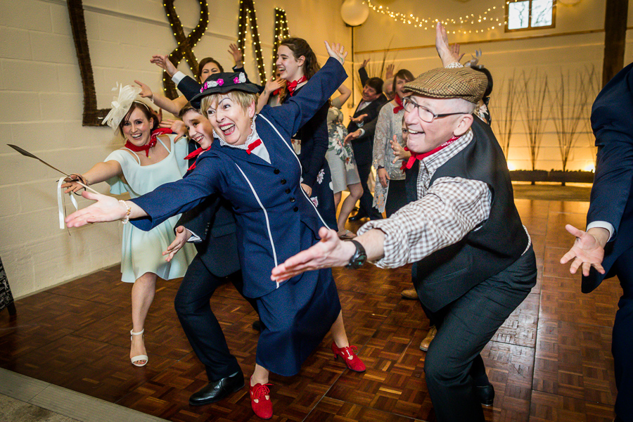yorkshire wedding photographer - performance of Mary Poppins
