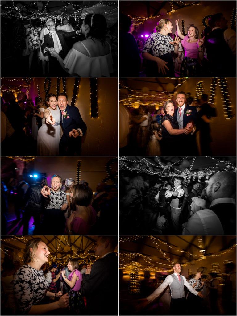 yorkshire wedding photographer - guests on the dance floor