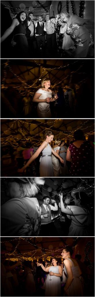 yorkshire wedding photographer - guests dancing