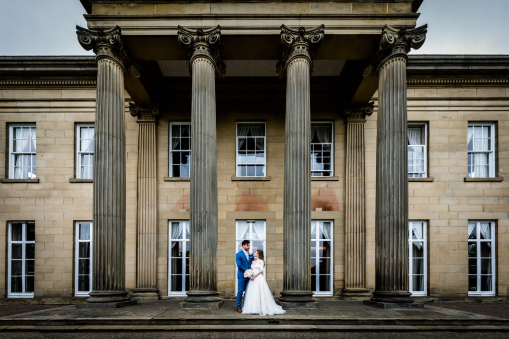 The Mansion Leeds Wedding Photography - couple portrait