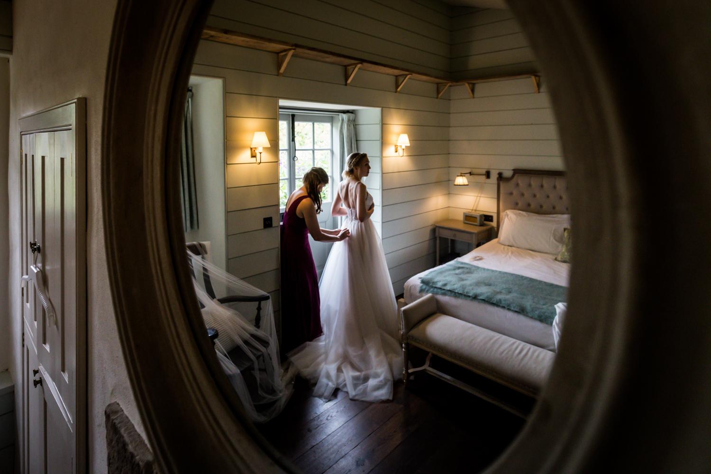 Middleton Lodge Wedding Photography - Bridal Preperations