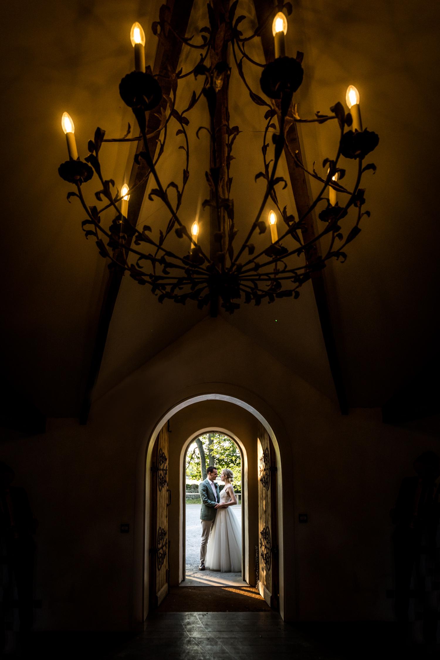 Middleton Lodge Wedding Photography - couple portrait