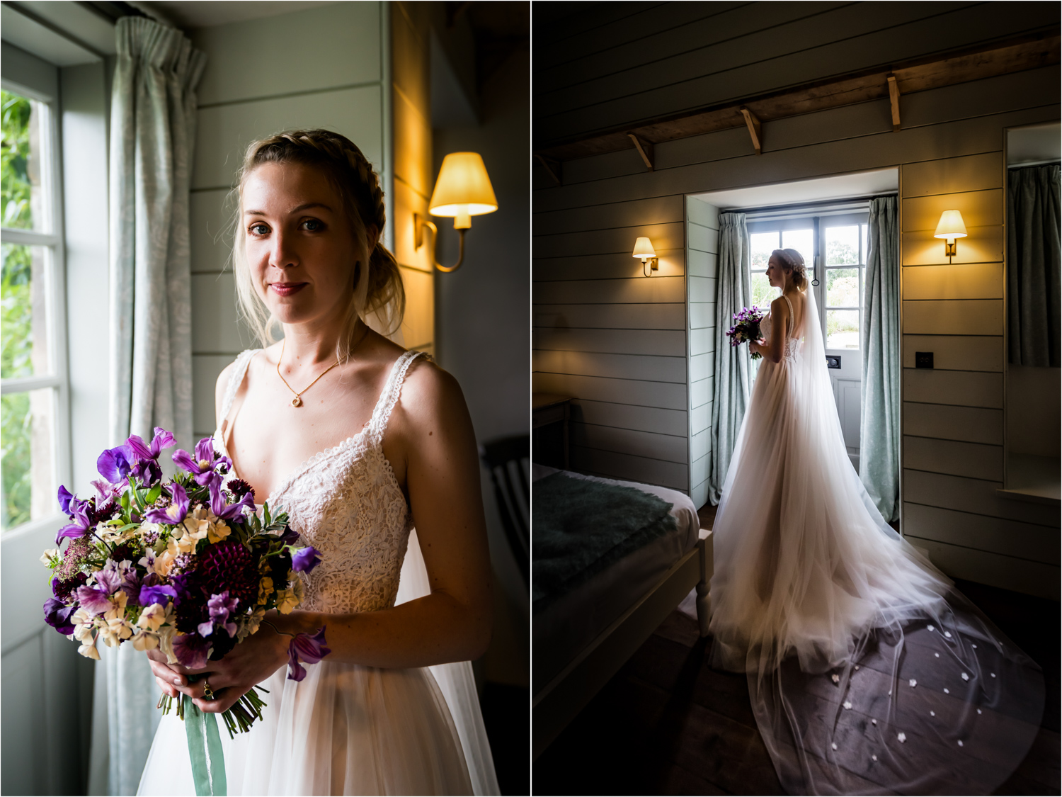 Middleton Lodge Wedding Photography - bride portraits