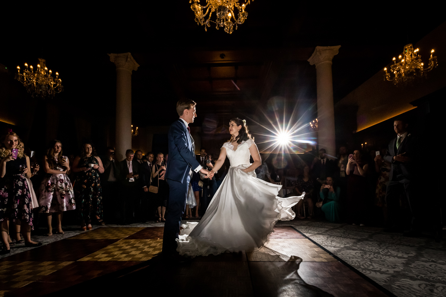 Principal Hotel York Wedding Photographer - First Dance
