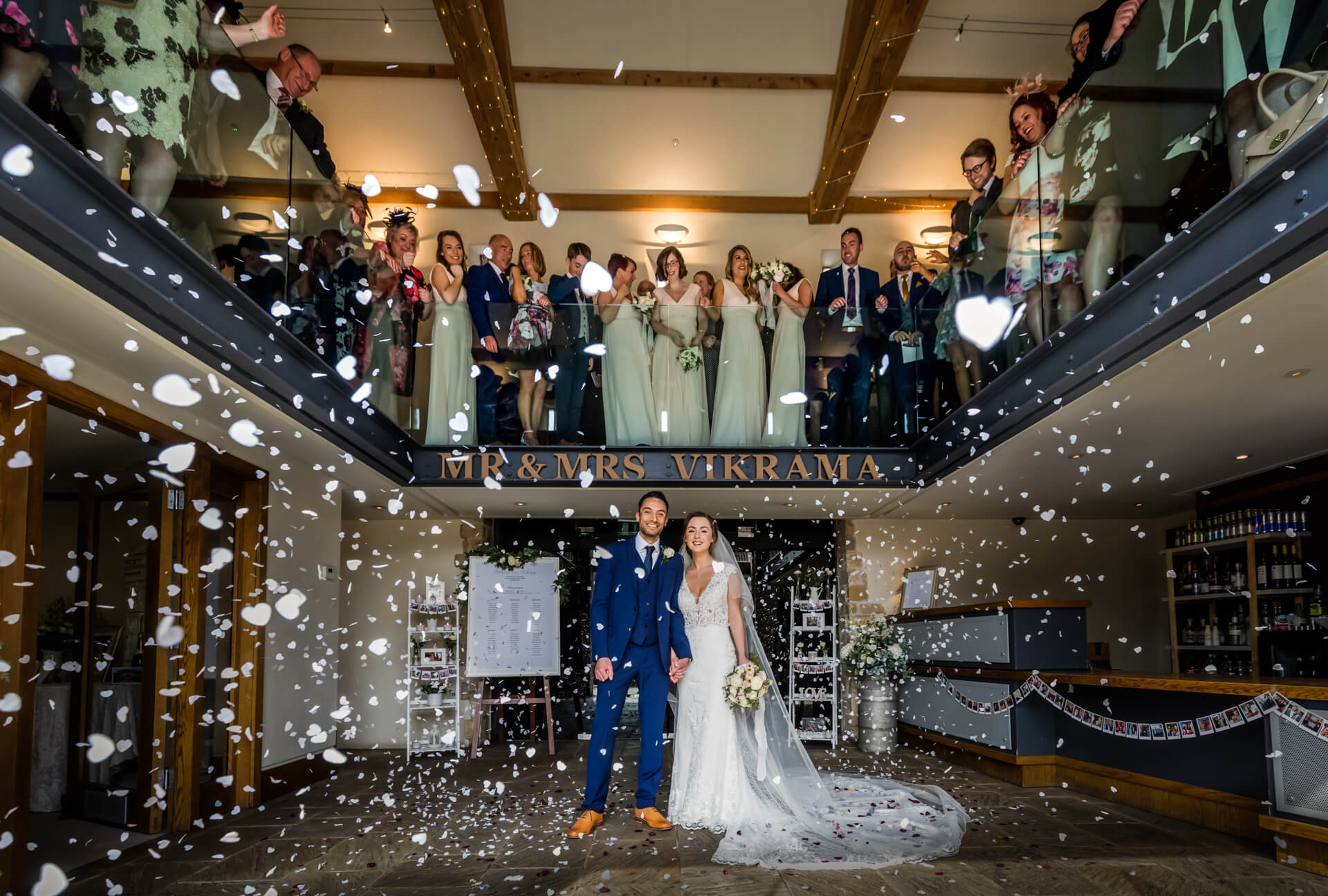 Priory Cottages Wedding Photography – Helena & Rob
