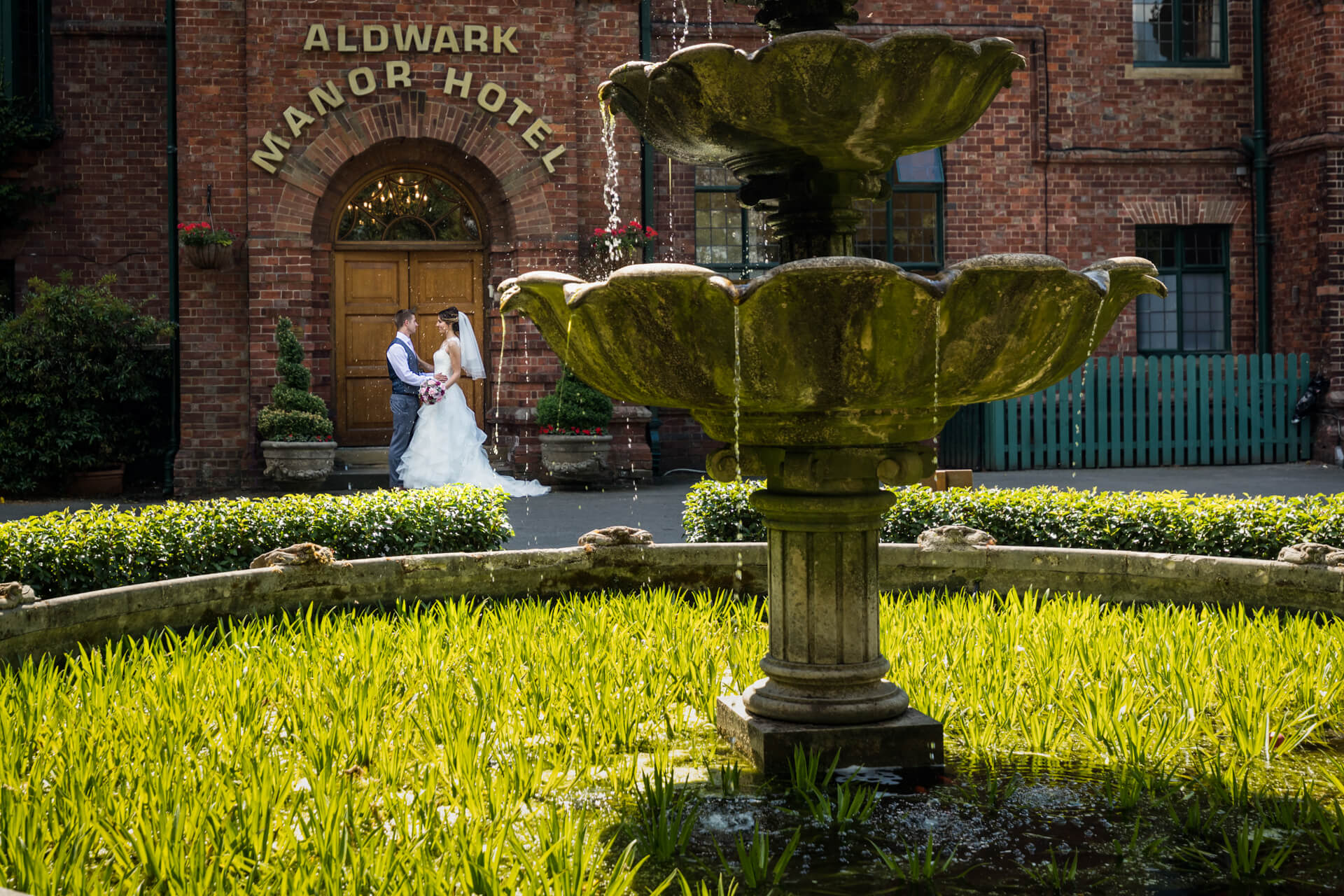 Wedding at Aldwark Manor   Sandra & Lee