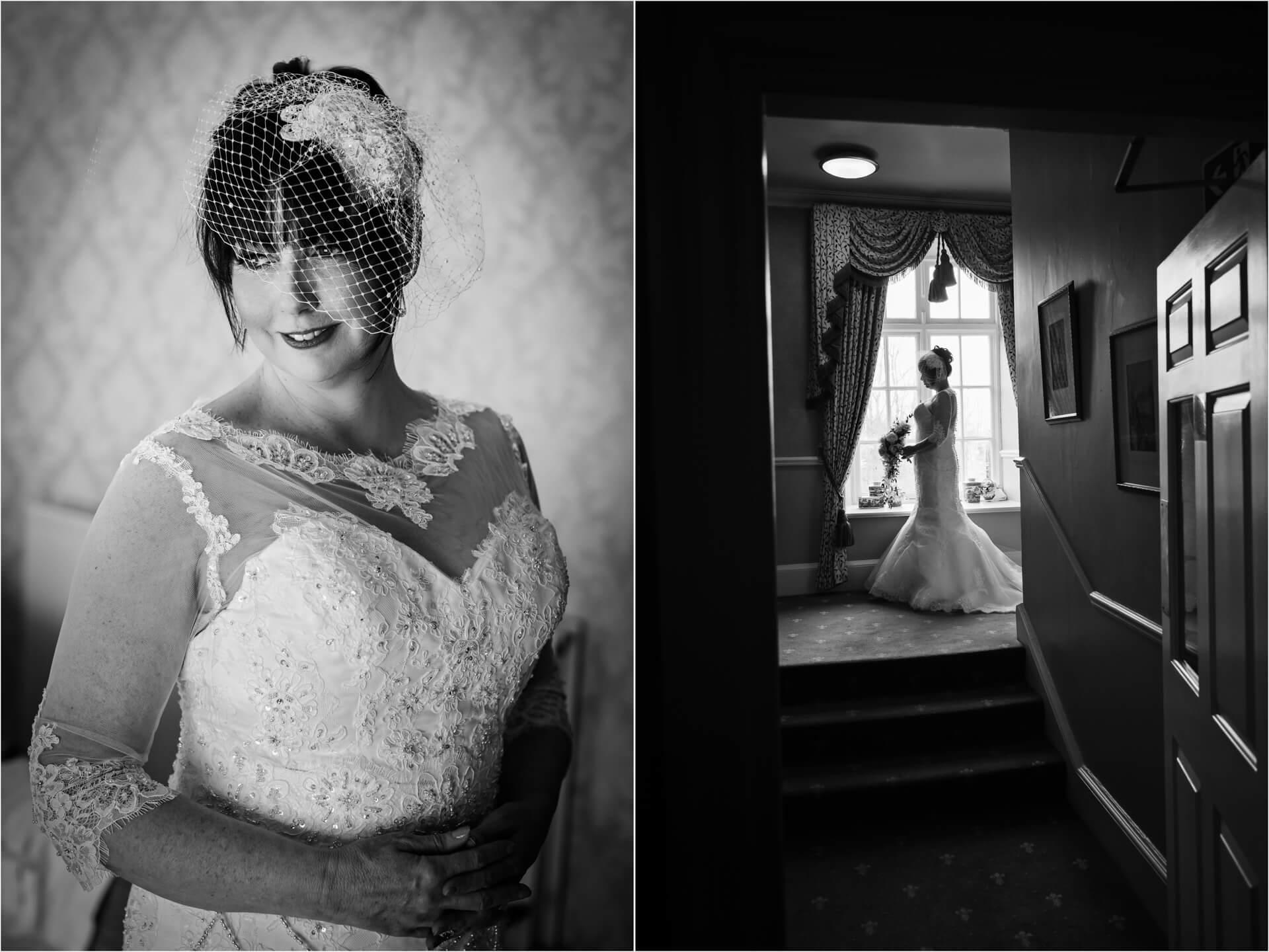 Hazlewood Castle wedding photographer - bridal preparations