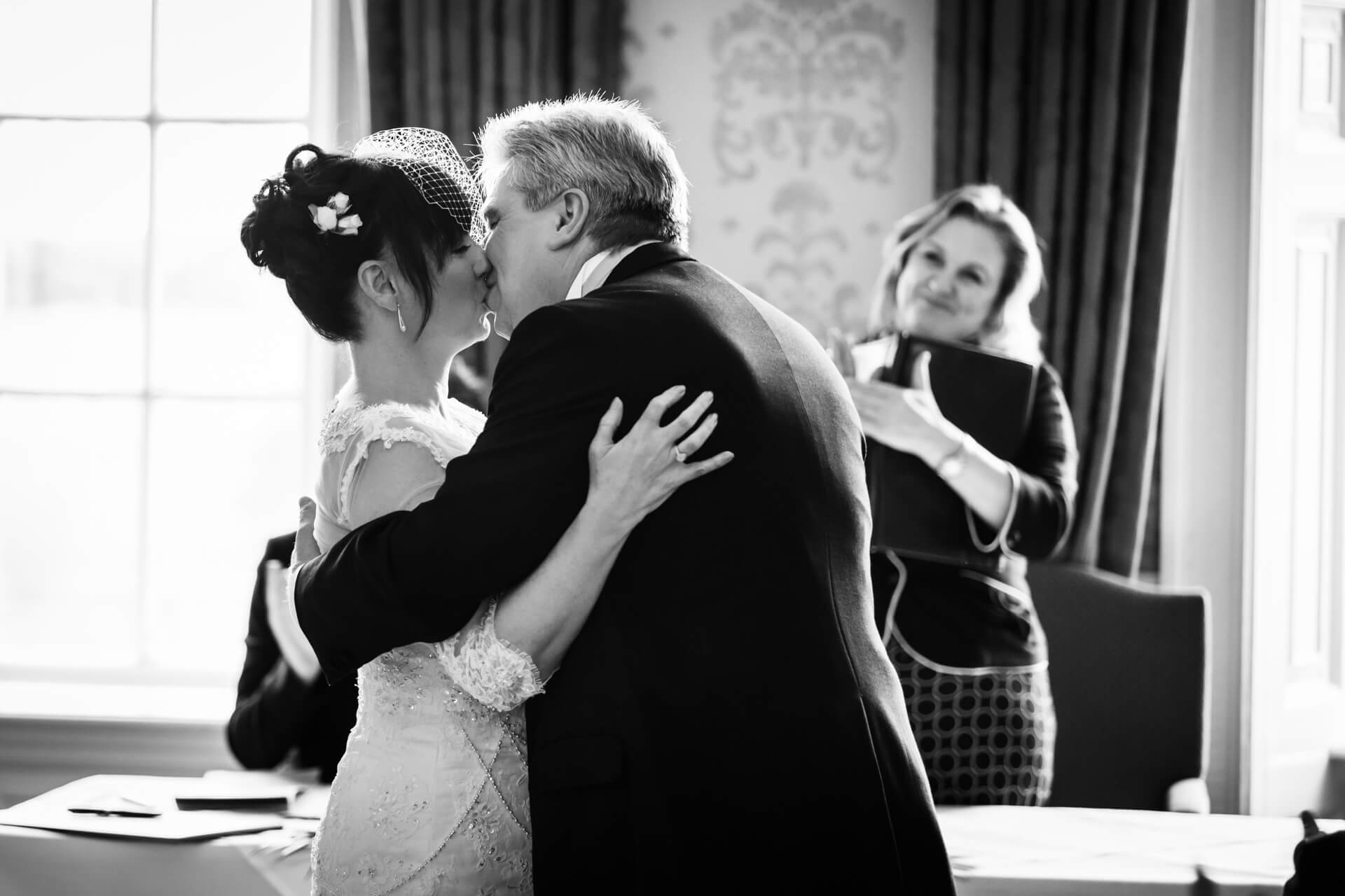 First kiss at Hazlewood Castle