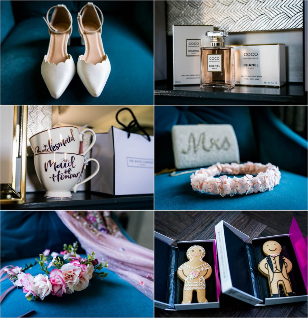 details from the wedding preparations