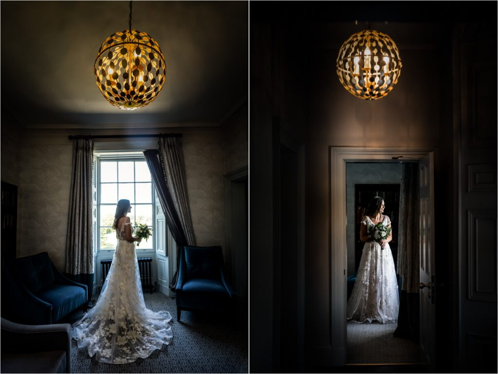 Saltmarshe Hall wedding photography - portraits of the bride