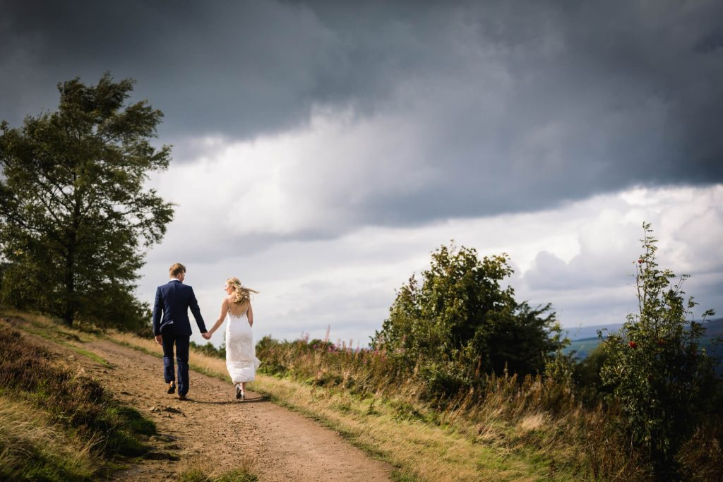 couple walking through the Yorkshire Dales